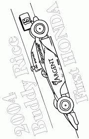 20 dessins de coloriage auto de course à imprimer