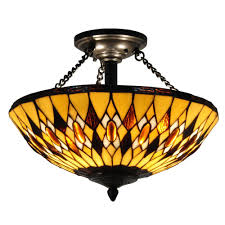 Interior Antique Ceiling Light Fixtures - bronze semi flushmount lights lighting the home depot