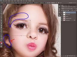 nama aplikasi untuk membuat foto menjadi kartun tutorial retouching merubah foto menjadi boneka barbie