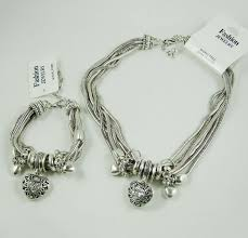 silver chunky fashion necklace images Free shipping wholesale fashion jewelry heart crystal chunky jpg