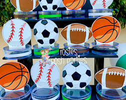 sports theme baby shower sports decorations etsy