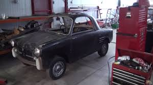 autobianchi 1959 autobianchi bianchina with a motorcycle inline four u2013 part 2