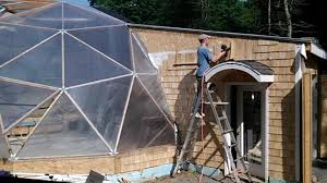 Geodesic Dome House Geodesic Dome Greenhouse Part 12 The End Youtube