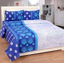 bed sheet quality best quality cotton double bedsheet with two pillow covers