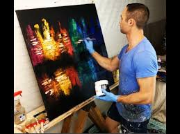 abstract painting city of color painting tips and techniques