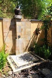 wonderful outdoor shower and bathroom design with traditional