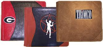 personalized leather photo albums powell leather personalized photo albums guest books portfolios