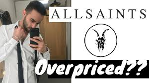 all saints is overpriced store review