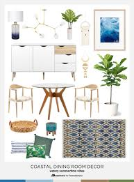 remodelaholic decorating a coastal dining room inspiration and tips