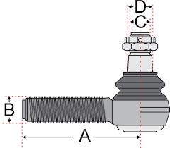 volvo truck parts diagram jss2417 track tie rod end stabiliser stabilizer link volvo fh12