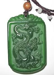 dragon jade necklace pendant images Rp vintage antique chinese apple green jade dragon pendant ebay jpg