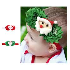 christmas hair accessories new christmas hair accessories shabby flower with santa