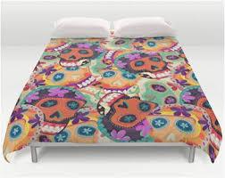 purple pattern mexican sugar skull queen bedding u2013 sugar skull bedding