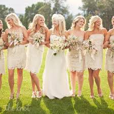 casual chagne wedding dresses wedding trends we lace bridesmaid dresses wedding by