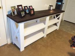 X Console Table Best 25 Ana White Furniture Ideas On Pinterest Ana White Diy