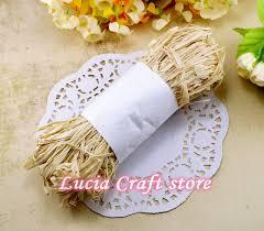 colored raffia aliexpress buy colored raffia paper raffia ribbon