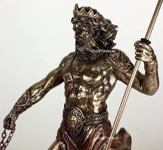 hades god of the underworld with cerberus