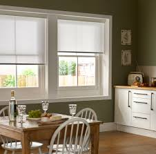 mariella snowdrop white kitchen roller blinds bling bling for