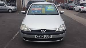 used vauxhall corsa 2002 for sale motors co uk