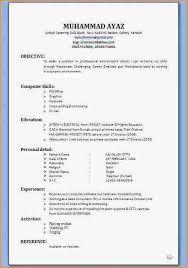 cv formats cv samples download pakistan cv format for freshers free download