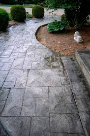 Seamless Stamped Concrete Pictures by Stamped Concrete Walkways A 1 Concrete Inc Hudson Ma