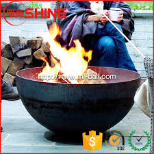 Sphere Fire Pit by Custom 750mm 900mm Dia 6mm Thick Mild Steel Sphere Fire Pit For