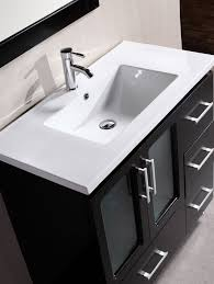 Inch Contemporary Single Sink Bathroom Vanity - 36 inch single sink bathroom vanity