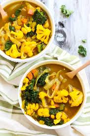cleansing vegetable turmeric soup emilie eats