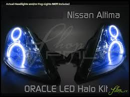 2008 nissan altima custom 10 12 nissan altima 4dr led dual color halo rings headlights bulbs