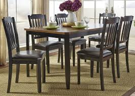 andover mills chandlerville 7 piece rectangular dining set