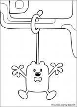 wow wow wubbzy coloring pages on coloring book info