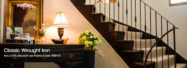 Wrought Iron Banister Wrought Iron Railings Stainless Steel Handrails Indital Usa