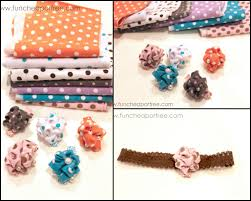 cheap hair bows flower hair clip tutorial cheap or free