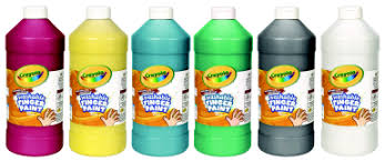 up to 75 off crayola non toxic washable finger paint 1 pt