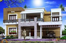 beautiful front view home design contemporary decorating design
