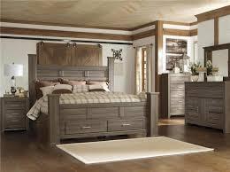 ashley king bedroom sets signature design by ashley sawyer 4pc king storage bedroom set