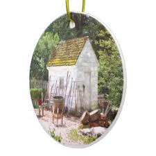 garden shed ornaments keepsake ornaments zazzle
