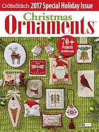 just cross stitch 2017 christmas ornament issue cross stitch