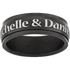 rings with names engraved personalized rings walmart