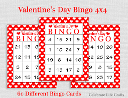 Halloween Bingo Free Printable Cards by Valentine Bingo Game 60 Printable Valentine U0027s Bingo