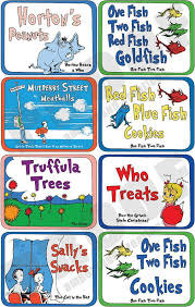 dr seuss party food dr seuss deluxe food label set by ampersandcreations on etsy 28 00
