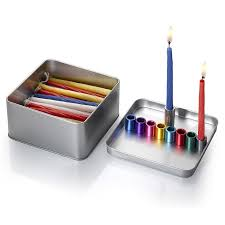 travel menorah cowan magnetic box travel hanukkah menorah israeli