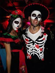 Sugar Skull Halloween Costumes 50 Awesome Couples Halloween Costumes 5 5 Stayglam