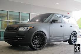 matte range rover kc trends showcase gianelle yerevan matte black wheels mounted