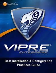 vipre enterprise best practice guide by advantage computers