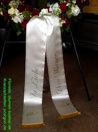trauersprüche für kränze galerie kranz dekoschleifen floristik