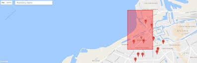 Maps Googlecom Javascript Get Same Vicinity Bounds From Google Maps Api V3 As