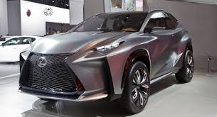 lexus suv concept lexus lf nx compact suv concept slices through detroit