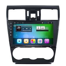 green subaru forester 2014 inch android 6 0 bluetooth radio for 2012 2013 2014 subaru
