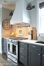 thrifty decor chick beadboard backsplash cozy kitchens a diy ish wood vent hood vent hood stove and hoods